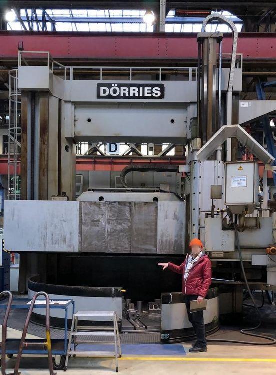 Dörries Siemens Sinumerik 820 CNC Control 125 RPM CT-360