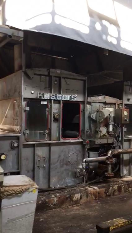 Kusters Continuous Washing Machine