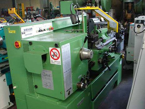 Weiler parallel lathe 2000 rpm COMMODOR