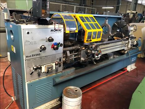 Momac Parallel lathe 1700 rpm SV 260