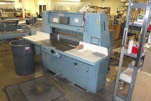 Wohlenberg 90 CM, Paper cutter