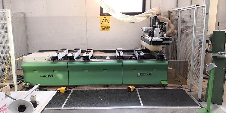 Biesse ROVER 20, CNC MACHINING CENTER
