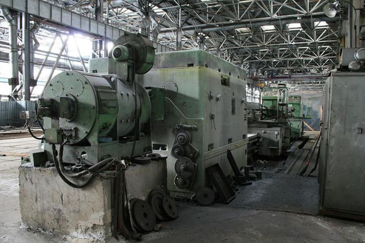 Kramatorsk 4-bed ways Heavy Duty Lathe N/A 1A670F1