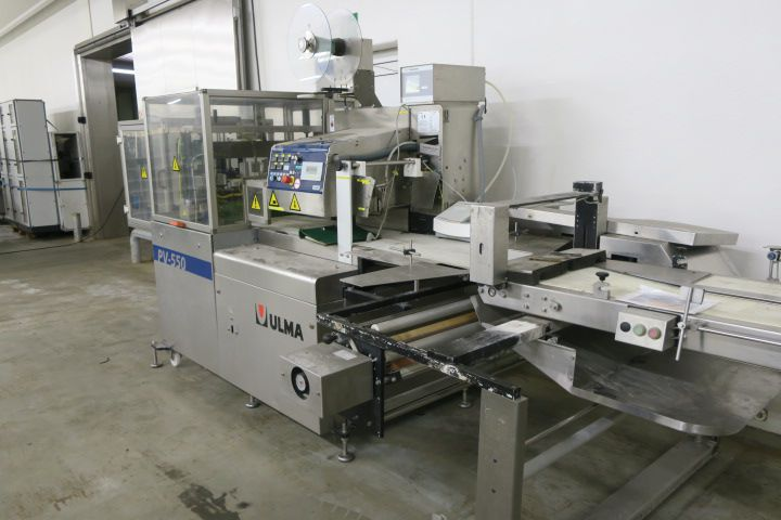 Ulma PV 550 LSH I X flow packer