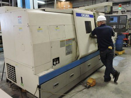 Okuma OSP-E 100L 3000 rpm Captain L470MBB 3 Axis