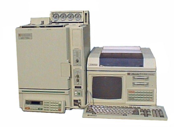 Shimadzu GC-14 GC System (FID, TCD)