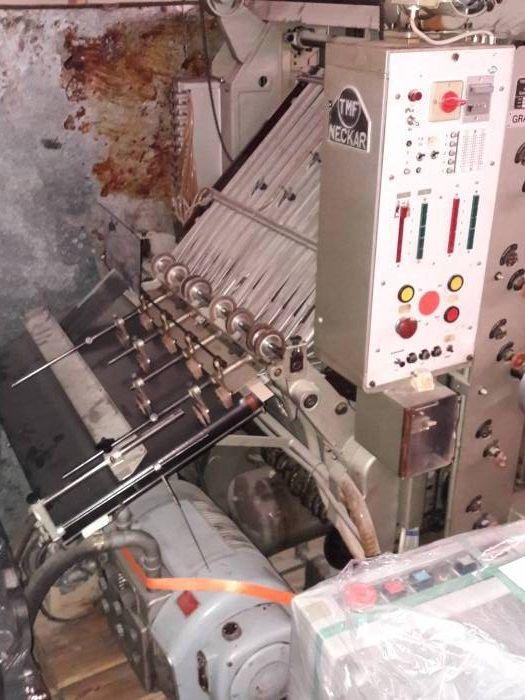 TMF Neckar N10, Collating machine