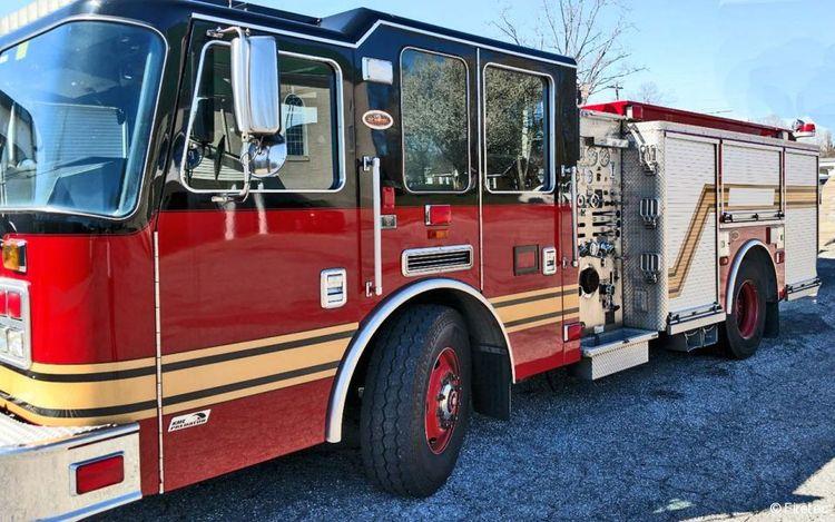 KME Fire Truck