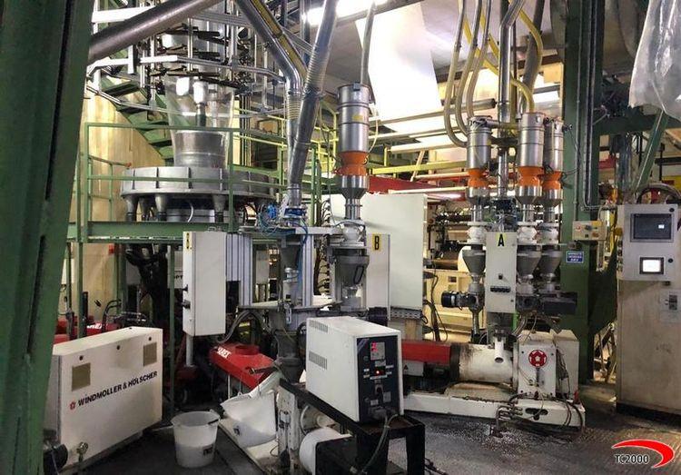 Windmoller & Holscher 5 Layers Blown film extrusion line