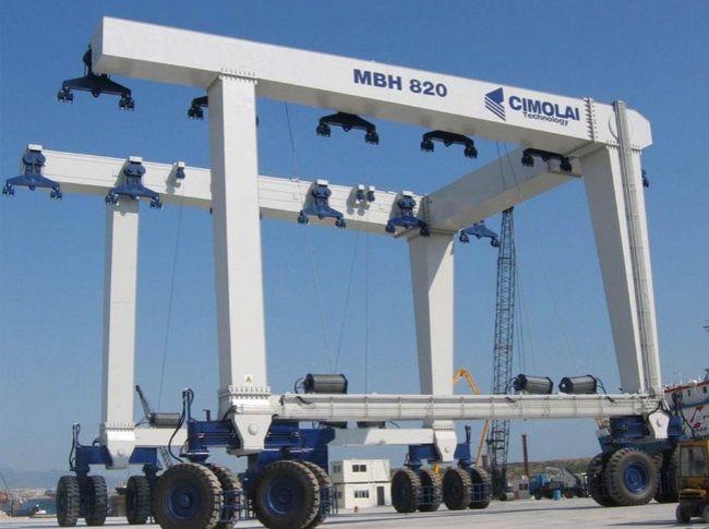 Cimolai MBH 820 Travel Lift Industrial