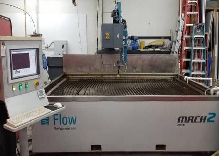 Flow Mach 2 2031b CNC Waterjet Cutting System Flow Master Software v. 6.0