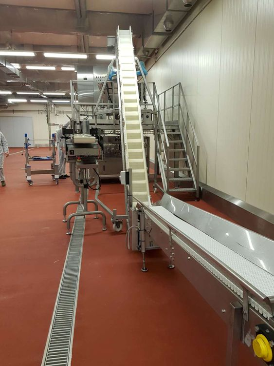 Cabinplant Weighing and packaging system