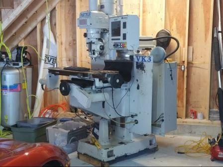 Milltronics Partner VK 3 Vertical Max. 4500 rpm