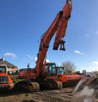 Hitachi ZX 350 LCK Tracked excavators