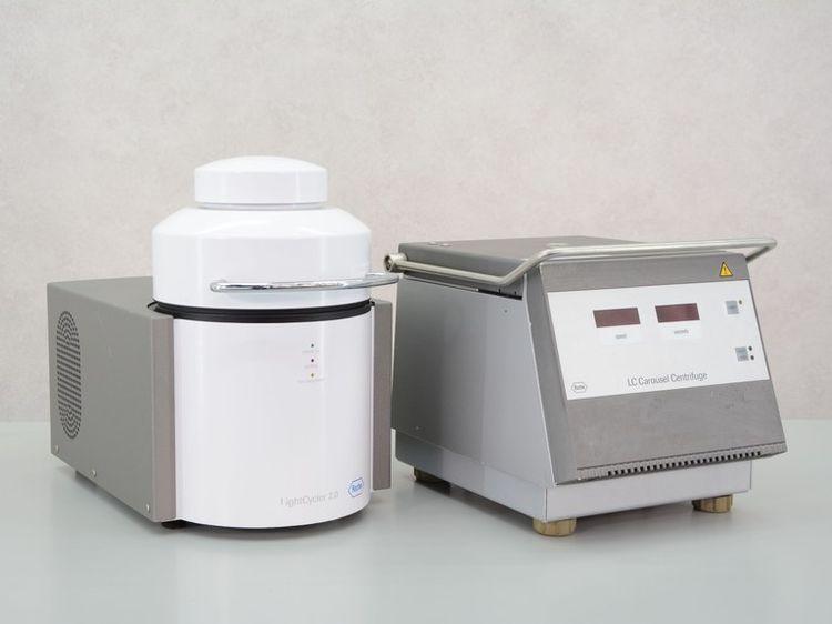 Roche LC & LightCycler 2.0 PCR, Carousel Centrifuge & Fluorescence meter