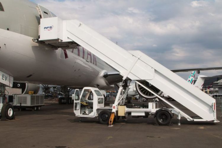 AMSS Wide Body Aircraft Stair Truck