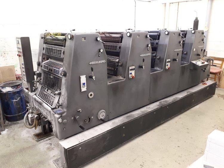 Heidelberg GTO-52-4 36x52