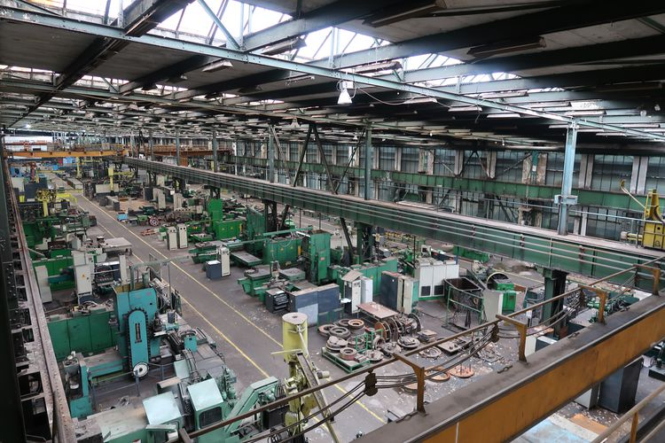 Major Troostwijk 4-day Auction of Electroputere SA Metalworking machines, electric and testing machines, tools, metal stock
