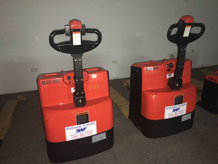 Pedestrian Electric Pallet Movers 2.00 t capacity