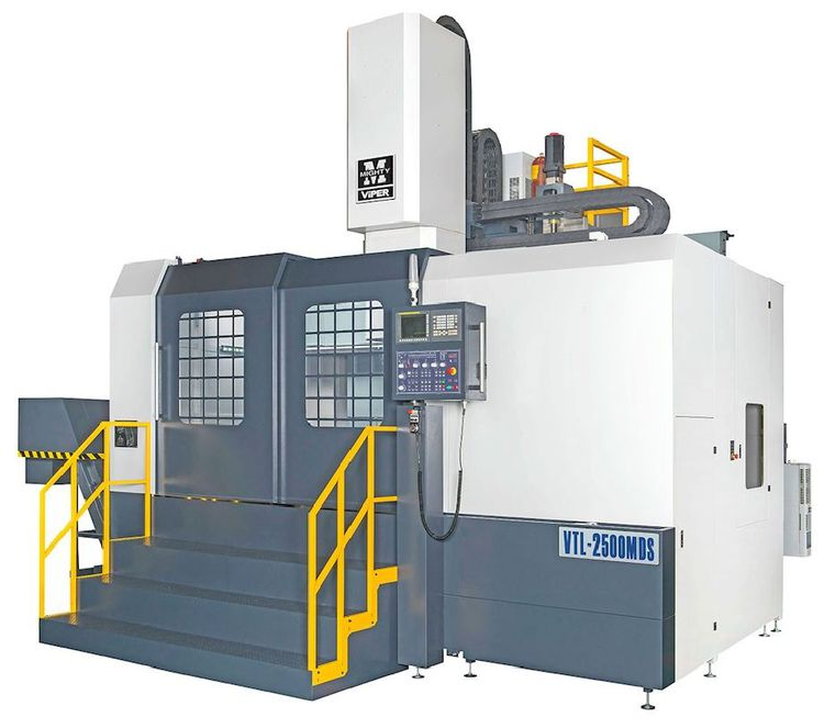 Mighty VTL-2500DS Vertical Turret Lathe