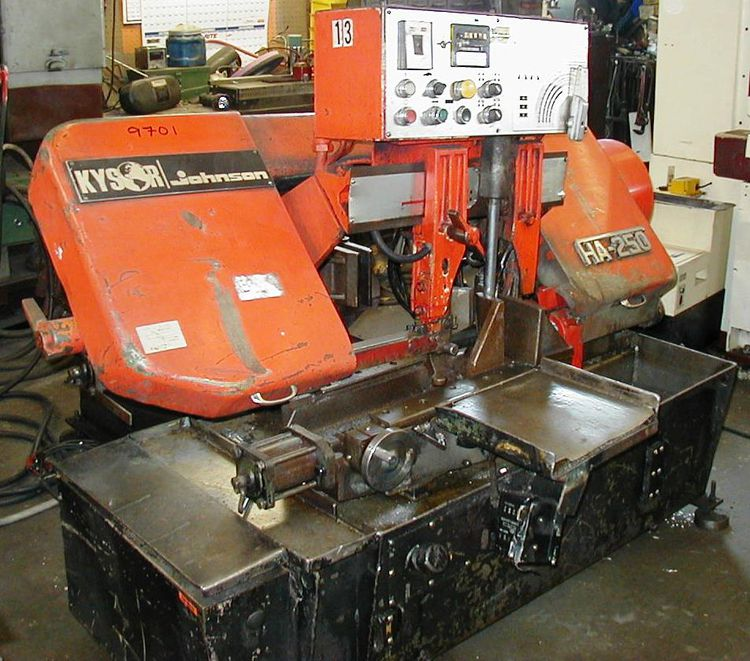 Amada, Kysor Johnson HA-250 Sawing Machine
