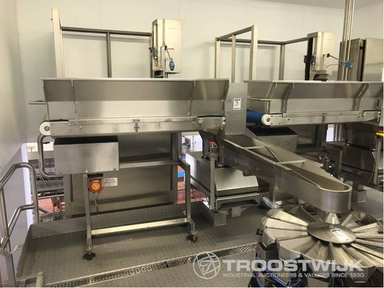 Online auction of chilled food-to-go production and packaging machinery
