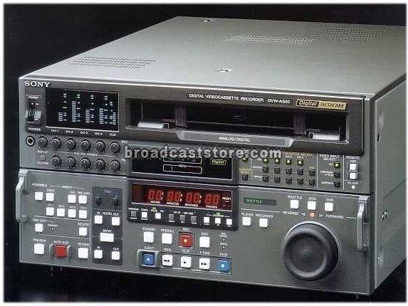 Sony DVW-A500 Digital Betacam Editor