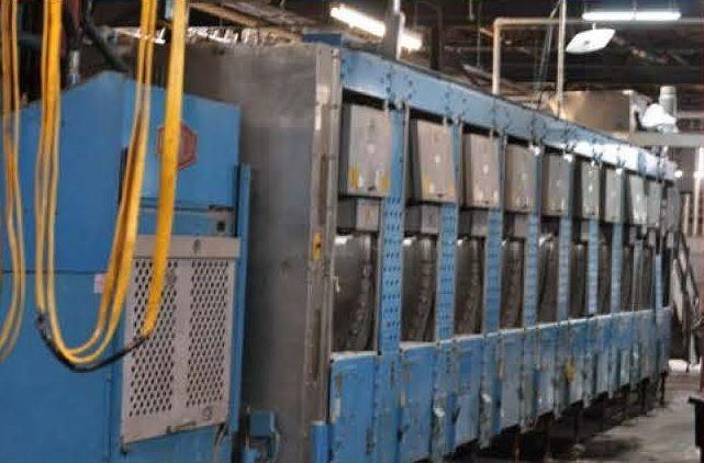 Milnor 76032C2M 10 Module CBW Tunnel Washer