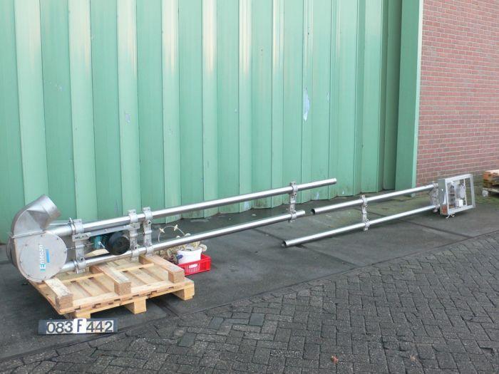 Entecon Aero AMC Aero Mechanical Vertical conveyor screw