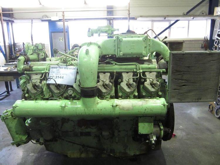 MWM TBD 602 V12 K Diesel Marine Engine
