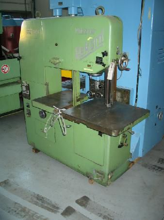 Mossner Rekord SSF 1050 Band Saw - Vertical conventional