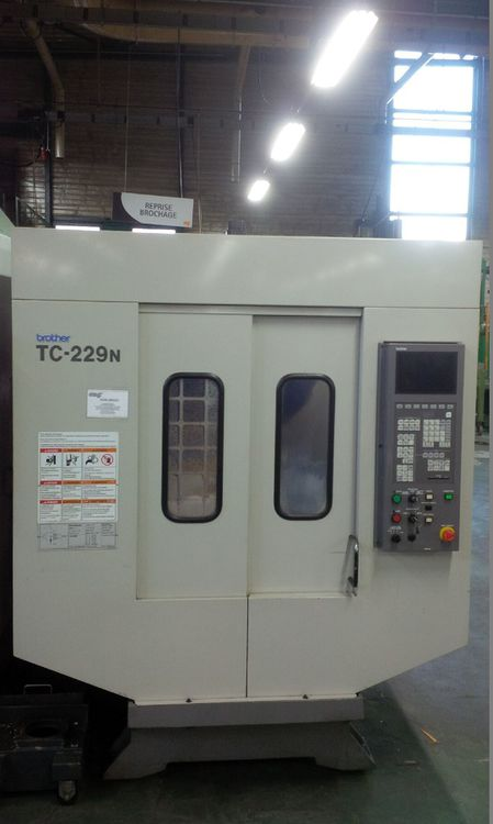 Brother TC 229 N 3 Axis