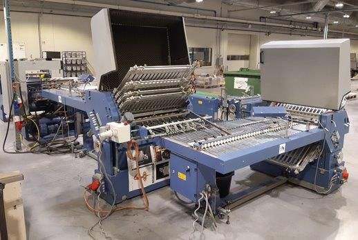 HERZOG AND HEYMANN M7 - 8/6, Postal folding system