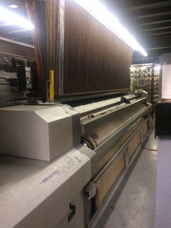 2 Van De Wiele Max 91 400 Cm Carpet Loom
