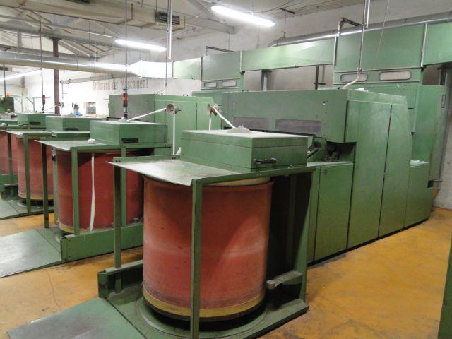 3 Rieter KU12 Carding machines