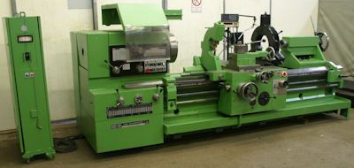 TOS Parallel lathe Variable SUS 80