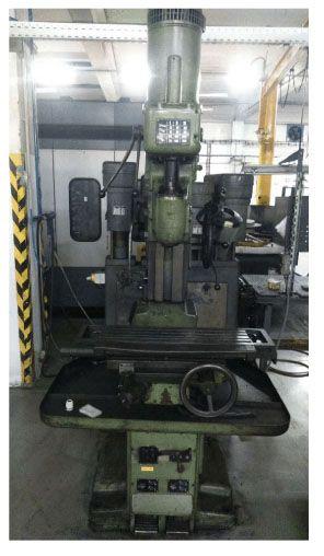 Oerlikon HFB Table milling 63-2800 Rpm