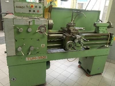Famot Engine Lathe Max. 2500 rev / min TUM 35 D1