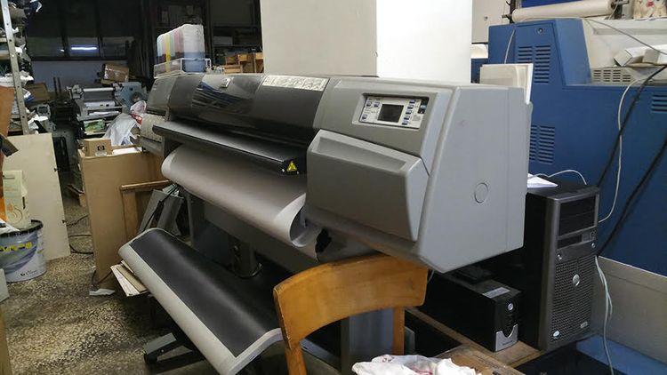HP 5500, Inkjet UV Printing Plotter 6 106 cm