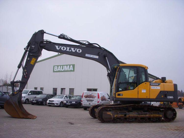 Volvo EC 180 D L Crawler excavators