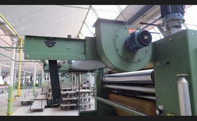 Sperotto rimar CK 240, open width compacting 220 Cm