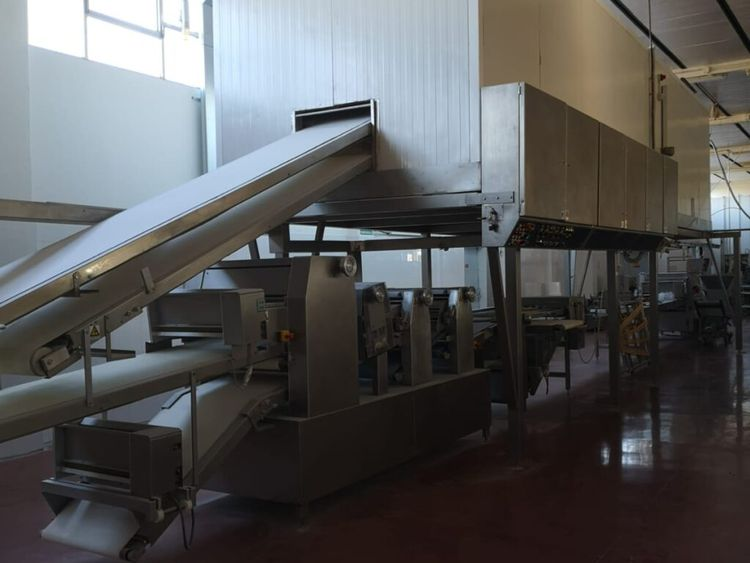 Rademaker croissant and pastry line 800 kg dough / hour