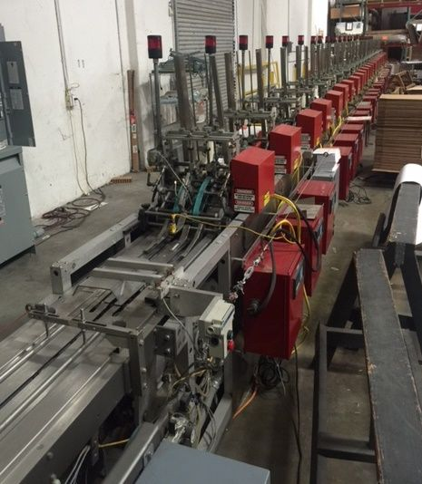 Thiele 24 Station Card Collator/ Packaging line