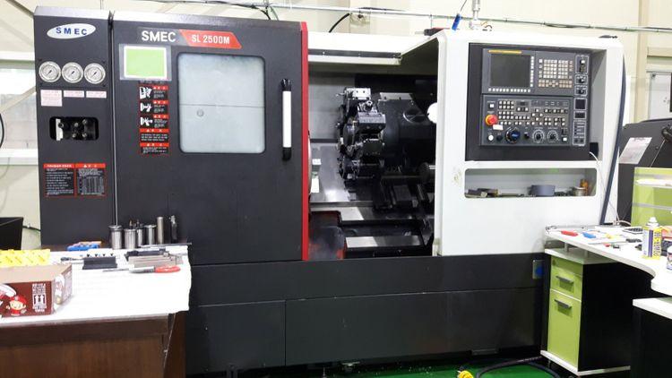 2 Samsung FANUC Oi-TF CNC CONTROL 4500 rpm SL2500AM 2 Axis