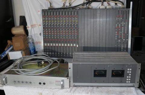 Calrec mini mixer 3