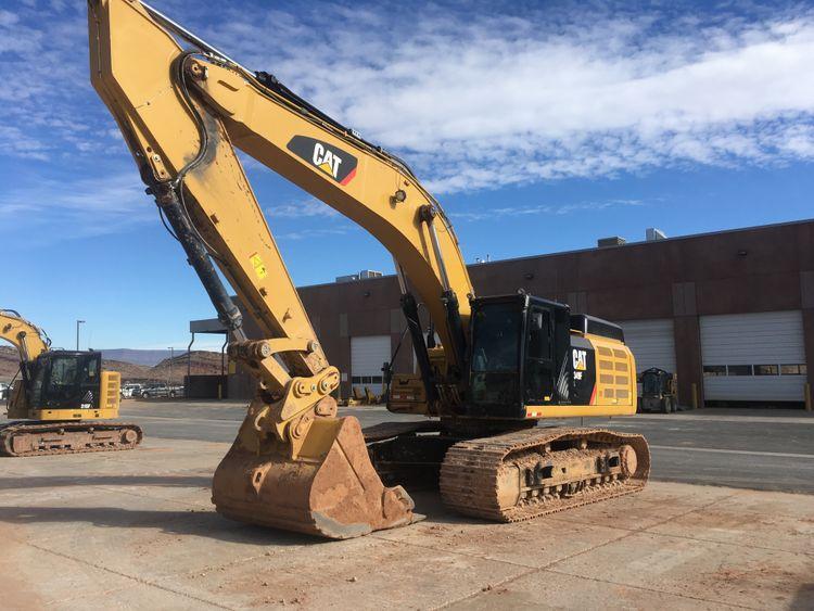 Caterpillar 349FL Excavator With GPS