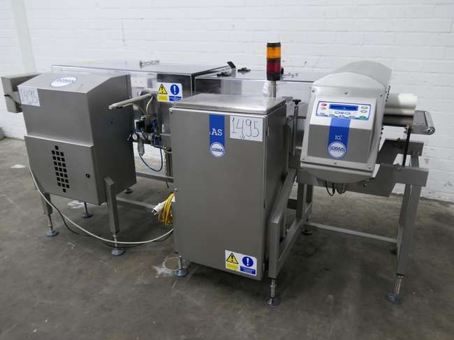 Loma IQ3 + AS1500R51 METAL DETECTOR & CHECKWEIGHER