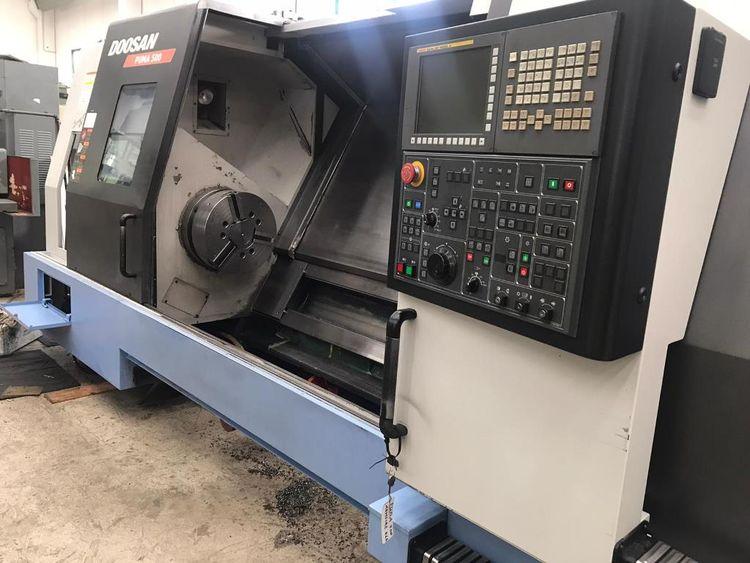 Doosan CNC FANUC 32i-A 1500 rpm PUMA 500 2 Axis