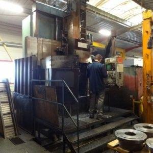 TOS SKIQ 12 CNC Vertical Turret Lathe