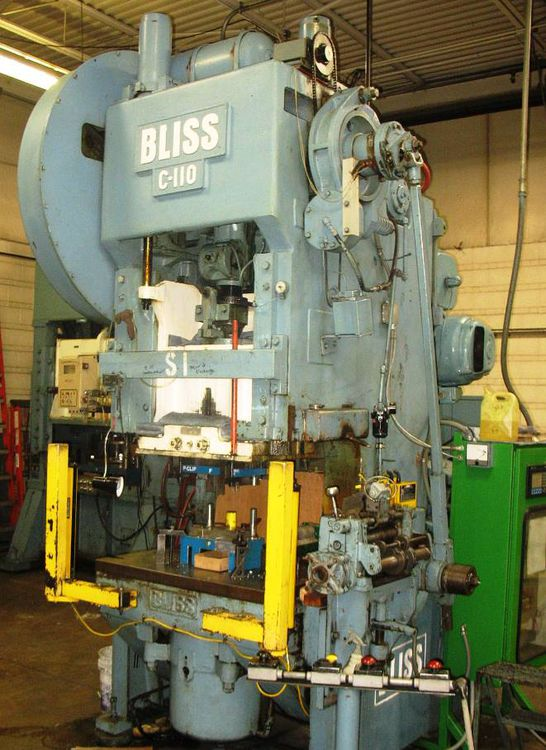 Bliss C-110, Press machine Max. 110 TON